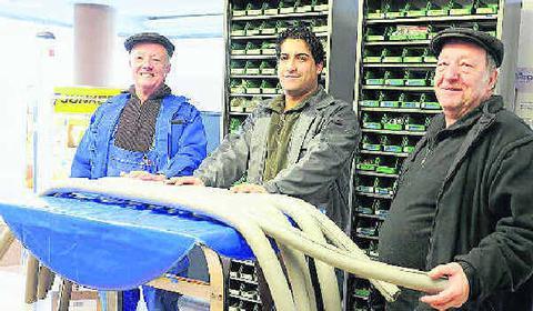 Die Brüder Weingart und Edib Cakmak der Weingart GmbH