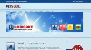 Weingart GmbH aus Heusweiler mit neuem Online Auftritt