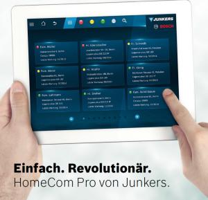 Weingart GmbH - Junkers - HomeCom Pro