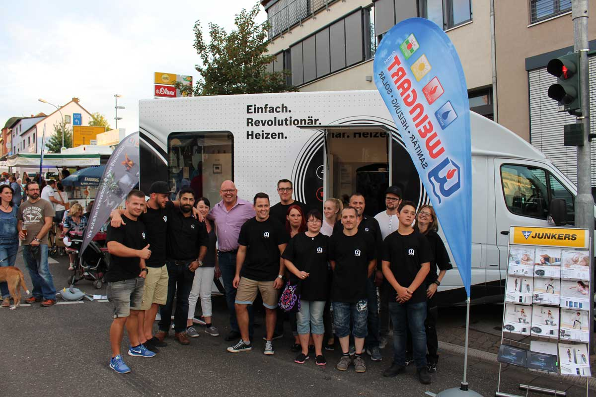 Weingart GmbH - Das große WIR - Weingart Team - Heusweiler