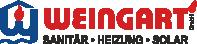 Weingart – Heizung Sanitär Solar Abfluss Logo