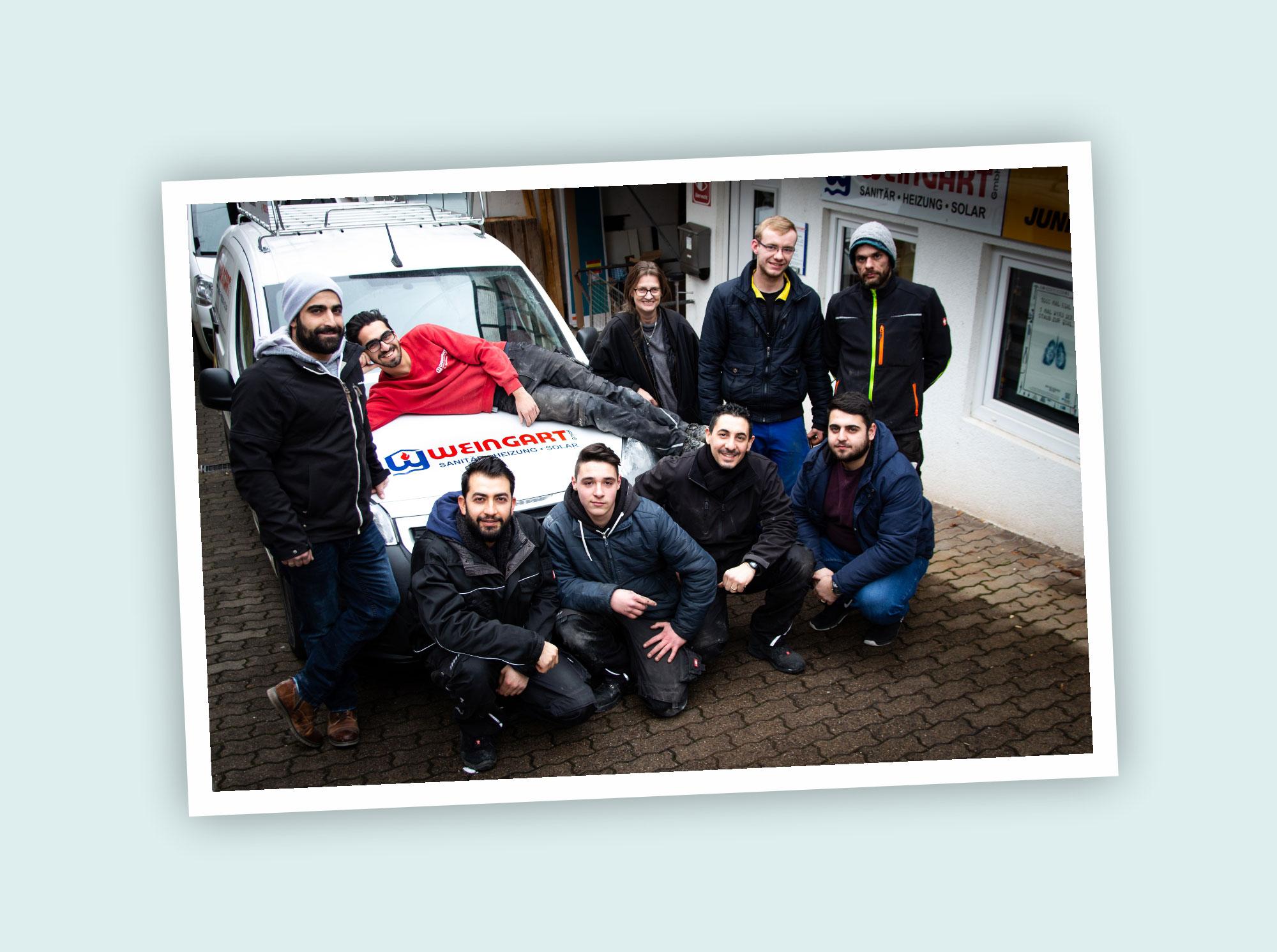 Das Team der Weingart GmbH aus Heusweiler