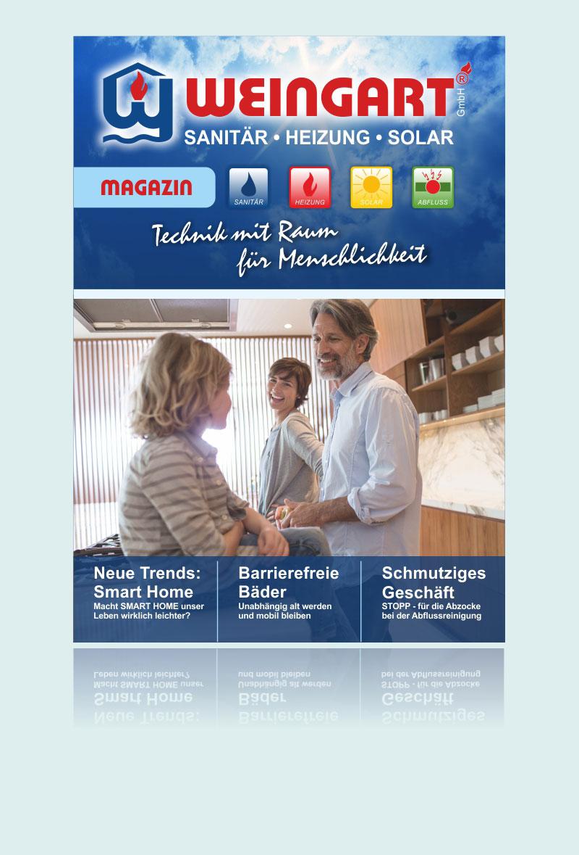 Weingart GmbH aus Heusweiler - Das Weingart Magazin zum Blättern